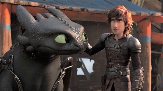 How to Train your dragon 3 text